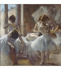 Stampa su tela: Edgar Degas - Dancers