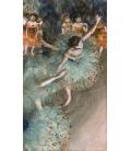 Edgar Degas - Rocking Dancer (Green Dancer). Printing on canvas