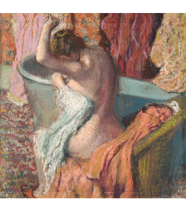Edgar Degas - After the Bath. Printing on canvas