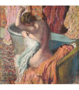 Edgar Degas - After the Bath. Printing on canvas