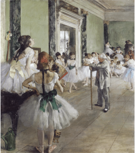 Edgar Degas - The Ballet Class. Printing on canvas