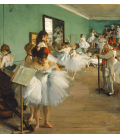 Edgar Degas - The Dance class. Printing on canvas