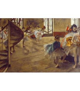 Edgar Degas - Prova Generale. Stampa su tela