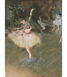 Edgar Degas - The Star. Printing on canvas