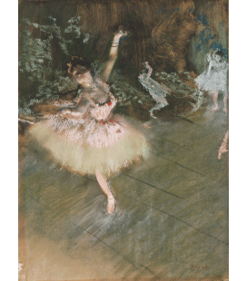 Stampa su tela: Edgar Degas - The Star