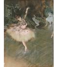 Stampa su tela: Edgar Degas - The Star