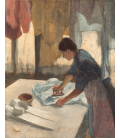 Edgar Degas - Woman Ironing. Printing on canvas