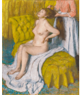 Printing on canvas: Edgar Degas - Woman Having Her Hair Combed