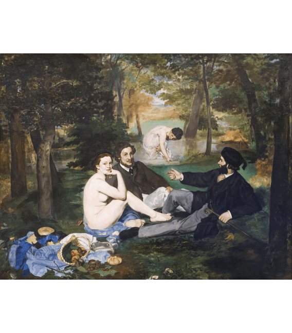 Printing on canvas: Edouard Manet - Luncheon on the Grass