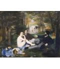 Edouard Manet - Pranzo sull'erba. Stampa su tela