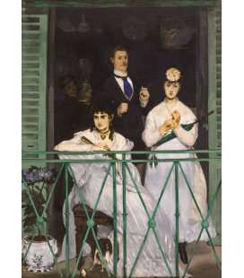 Edouard Manet - The Balcony. Printing on canvas