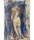 Printing on canvas: Edvard Munch - Death and Life