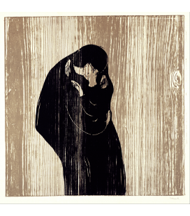 Printing on canvas: Edvard Munch - Kiss IV