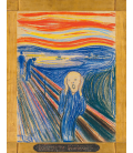 Edvard Munch - The Scream. Printing on canvas