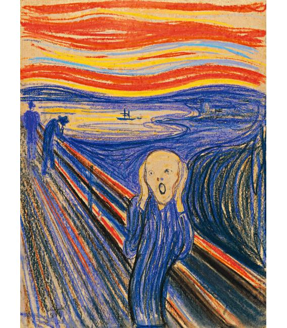 Printing on canvas: Edvard Munch - The Scream 2