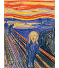 Stampa su tela: Edvard Munch - L'urlo 2