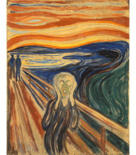 Edvard Munch - The Scream 3. Printing on canvas