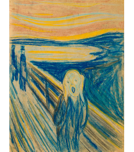 Edvard Munch - The Scream 4. Printing on canvas