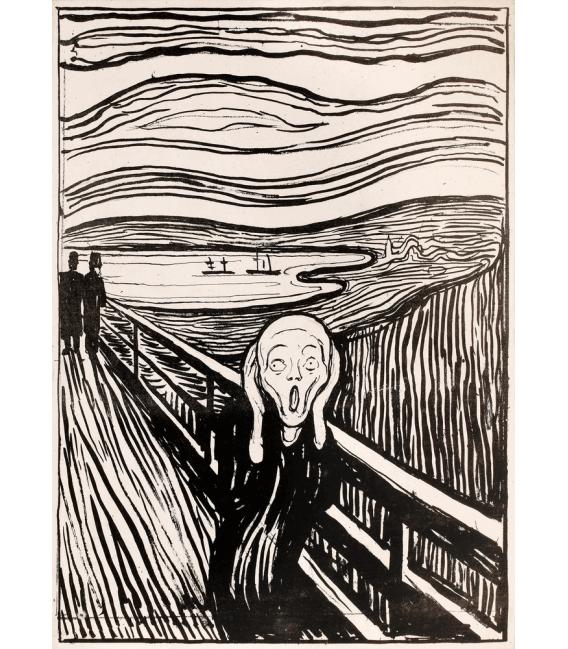 Printing on canvas: Edvard Munch - The Scream 5