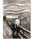 Stampa su tela: Edvard Munch - L'urlo 5