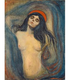 Edvard Munch - Madonna. Stampa su tela