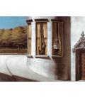 Edward Hopper - Agosto in citta. Stampa su tela