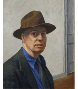 Printing on canvas: Edward Hopper - Self-portrait
