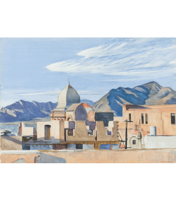 Printing on canvas: Edward Hopper - specialism in Mexico