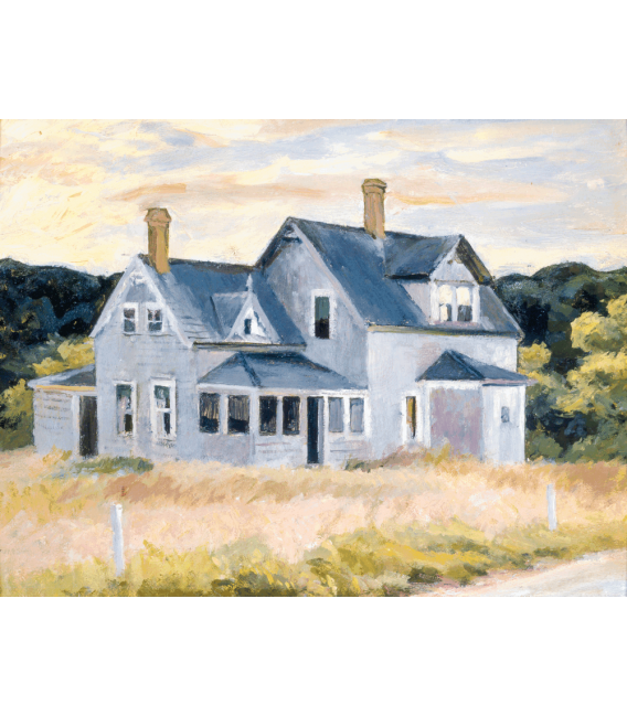 Printing on canvas: Edward Hopper - House on the Cape (Cottage