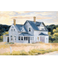 Edward Hopper - House on the Cape (Cottage, Cape Cod). Printing on canvas