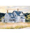Edward Hopper - Casa sul Promontorio (Cottage, Cape Cod). Stampa su tela