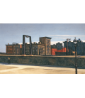 Edward Hopper - Manhattan Bridge Loop. Stampa su tela
