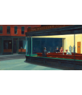 Edward Hopper - Nighthawks. Printing on canvas