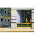 Edward Hopper - New York Office. Printing on canvas