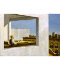 Printing on canvas: Edward Hopper - Office in a Small City