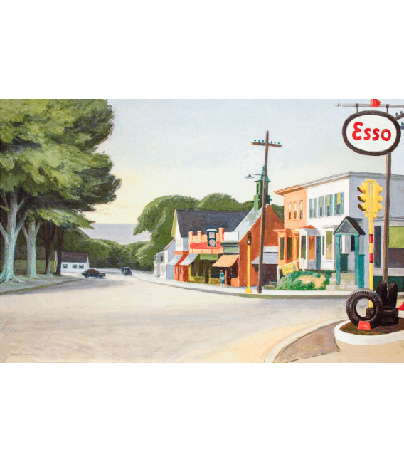Printing on canvas: Edward Hopper - Orleans