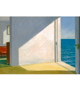 Stampa su Giclèe su tela: Edward Hopper - Stanze sul mare - Rooms by the sea