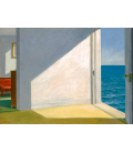 Edward Hopper - Rooms by the sea. Printing Giclèe on canvas