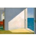 Stampa su Giclèe su tela: Edward Hopper - Stanze sul mare - Rooms by the sea