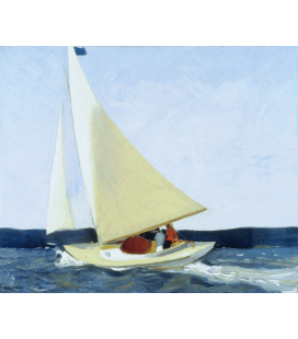 Printing on canvas: Edward Hopper - Sailing