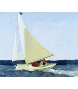 Edward Hopper - Sailing. Printing on canvas