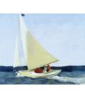 Printing on canvas: Edward Hopper - Sailing