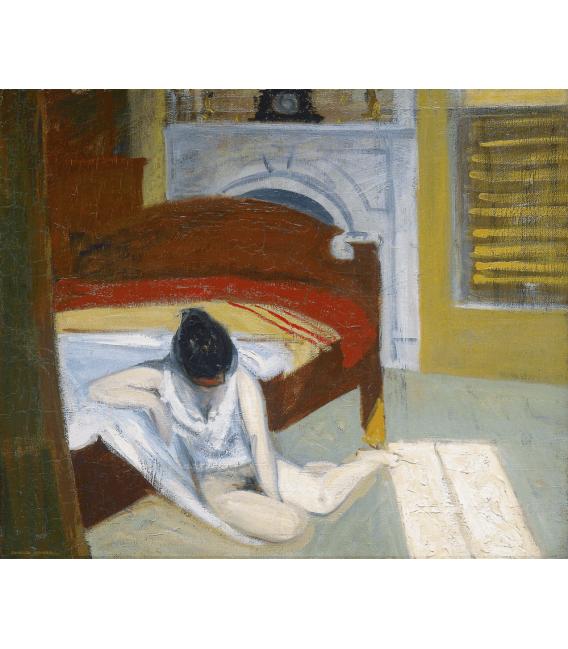 Printing on canvas: Edward Hopper - Summer Interior
