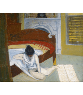 Stampa su tela: Edward Hopper - Summer Interior