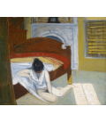 Edward Hopper - Interni Estivi. Stampa su tela