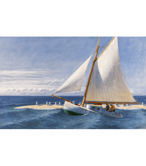 Printing on canvas: Edward Hopper - The Martha McKeen of Wellfleet 1944