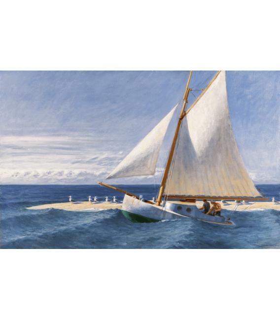 Stampa su tela: Edward Hopper - The Martha McKeen of Wellfleet 1944