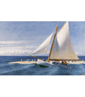 Edward Hopper - The Martha McKeen of Wellfleet 1944. Printing on canvas