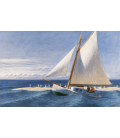 Edward Hopper - The Martha McKeen of Wellfleet 1944. Stampa su tela