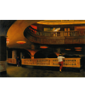 Printing on canvas: Edward Hopper - The Sheridan Theater